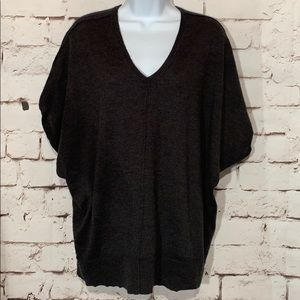 Eileen Fisher Merino Wool Dolman Top, Size XS